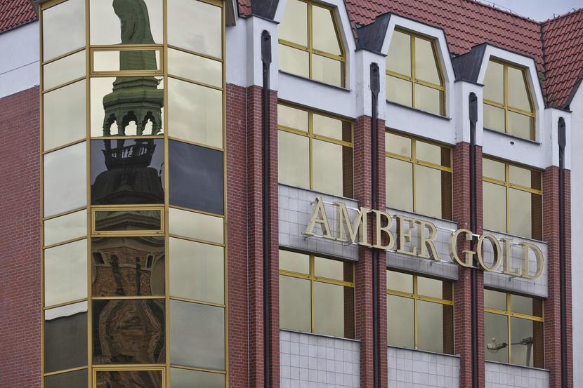 Dawna siedziba centrali firmy Amber Gold