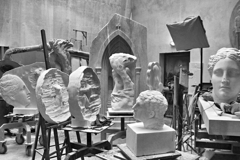 Pracownia rzeźbiarska Michała Jackowskiego