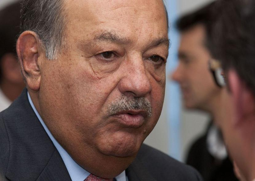 Carlos Slim, fot.: Bloomberg