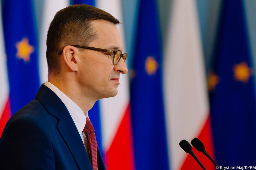 Mateusz Morawiecki, fot. Krystian Maj/KPRM