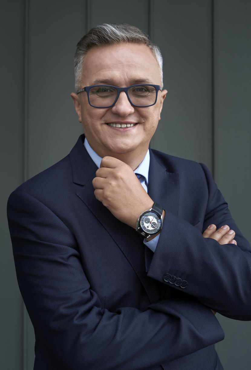 Sławomir Radacki, założyciel i prezes zarządu DLF Sp. z o.o.