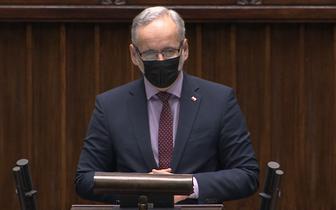Grzegorz Braun groził Niedzielskiemu. Minister złożył zawiadomienie do prokuratury