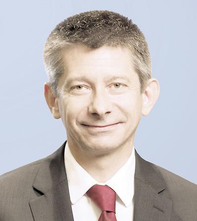 Dr hab. n. med. Tomasz Sacha, specjalista chorób wewnętrznych i hematologii