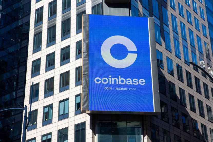 Logo Coinbase (21.04.2021)
