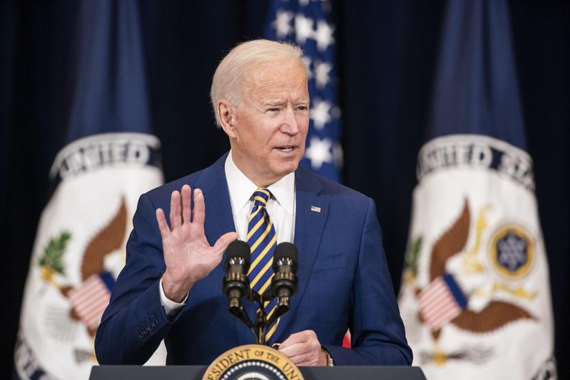 Joe Biden, fot. Bloomberg