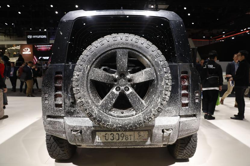 Land Rover, fot. Bloomberg