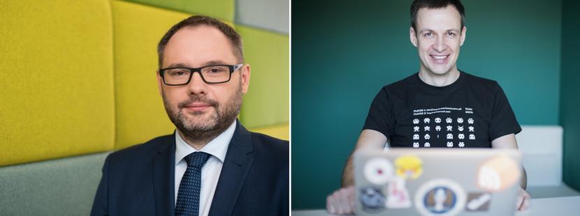 O pułapkach, jakie zastawiają cyberprzestępcy oraz jak się przed nimi strzec, mówią: Adam Lange, dyrektor ds. wykrywania cyberzagrożeń w Standard Chartered i Adam Haertle, redaktor naczelny portalu Zaufana Trzecia Strona