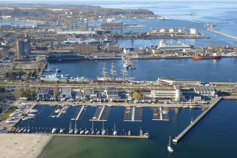 Port morski w Gdyni