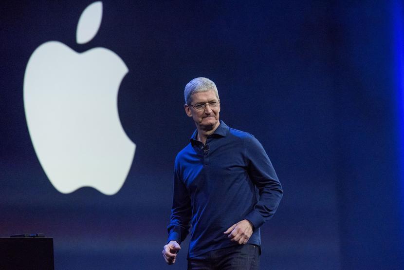 Tim Cook, szef Apple, fot. Bloomberg