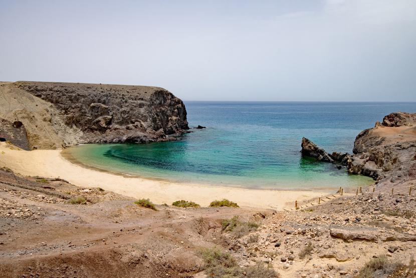 Wybrzeże wyspy Lanzarote, Hiszpania