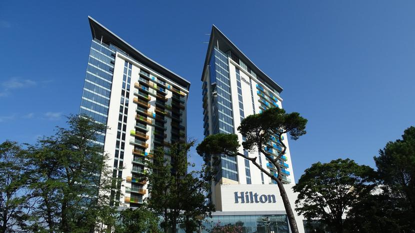 Jeden z hoteli sieci Hilton