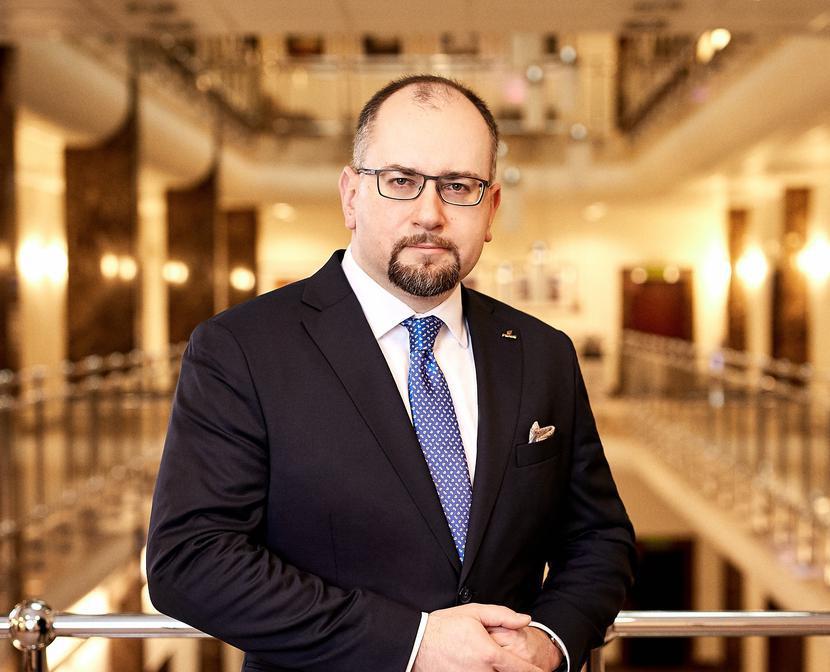 Paweł Majewski, prezes PGNiG, fot. KORLAK MAREK