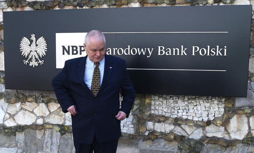 Prezes NBP Adam Glapinski, fot. Adam Chelstowski / Forum