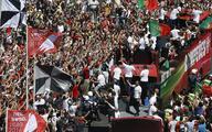 Przyjazd piłkarzy sparaliżował Lizbonę