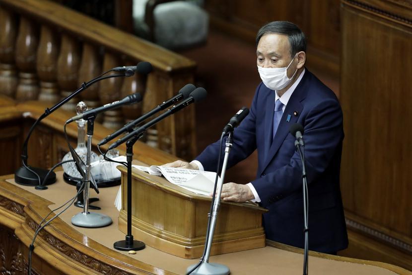 Premier Japonii, Yoshihide Suga