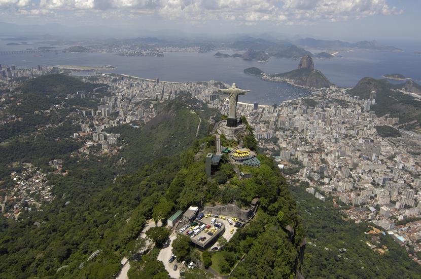 Rio de Janeiro, Corcovado, Monumento Christo Redentor, Brazylia