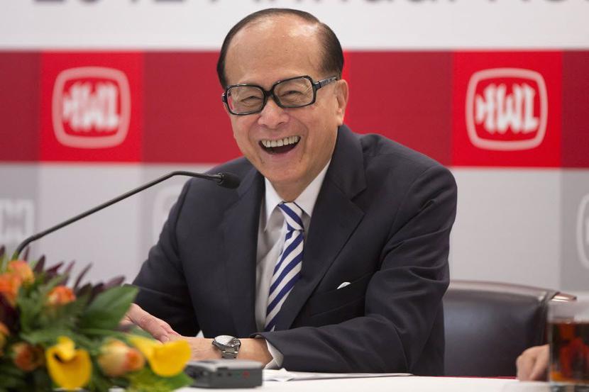 Li Ka-shing, fot. Bloomberg
