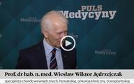 Prof. Wiesław Jędrzejczak o przeszczepieniu szpiku, które ograniczyło skutki cukrzycy [WIDEO]