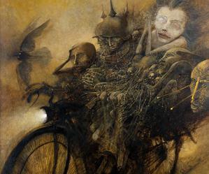 Beksiński — mistrz malowania snów
