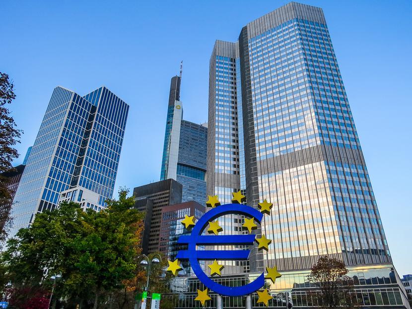 Siedziba Europejskiego Banku Centralnego (EBC) we Frankfurcie