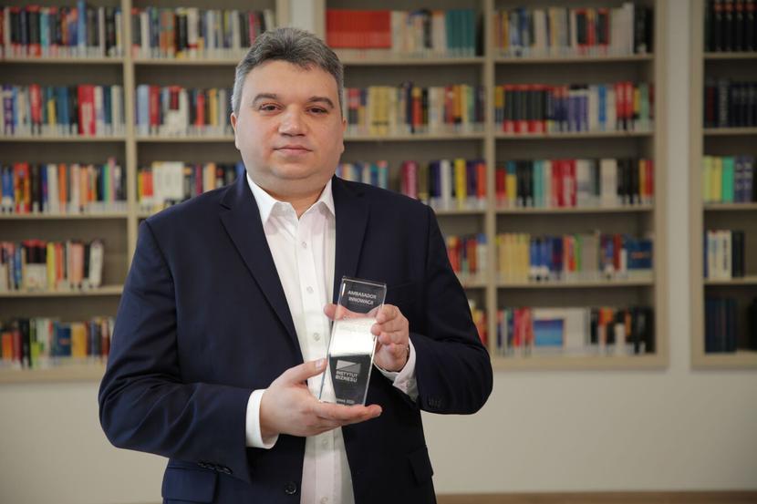 Łukasz Rumowski, dyrektor Działu Rozwoju Produktu, Arcus SA.