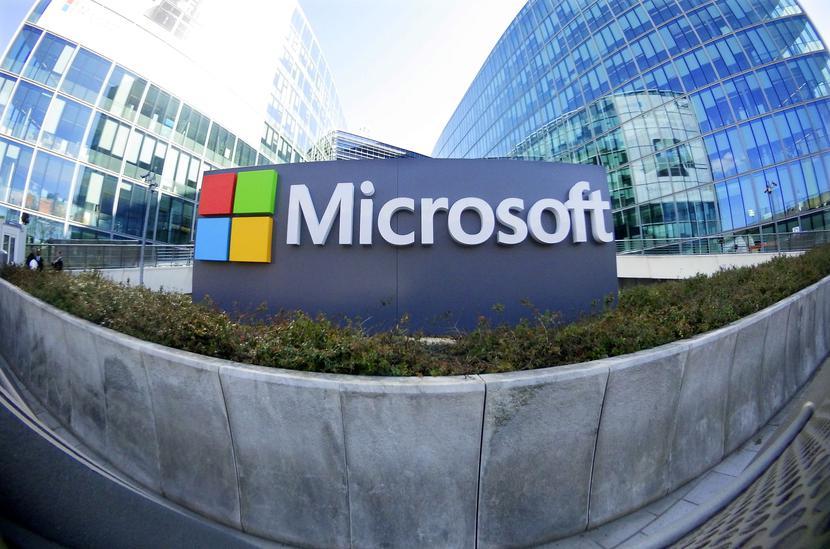 Microsoftfot. Charles Platiau/Reuters/Forum