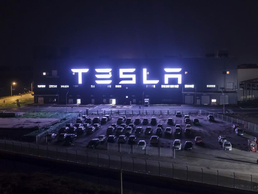 Zakład koncernu Tesla w Szanghaju