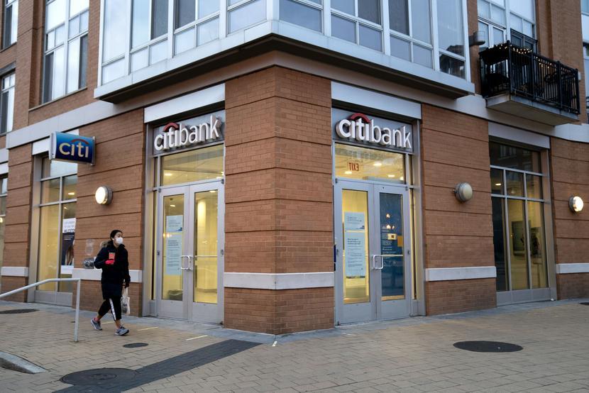 Citibank, Citigroup fot. Bloomberg