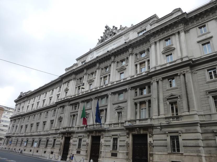 Siedziba banku Cassa Depositi e Prestiti w Rzymie