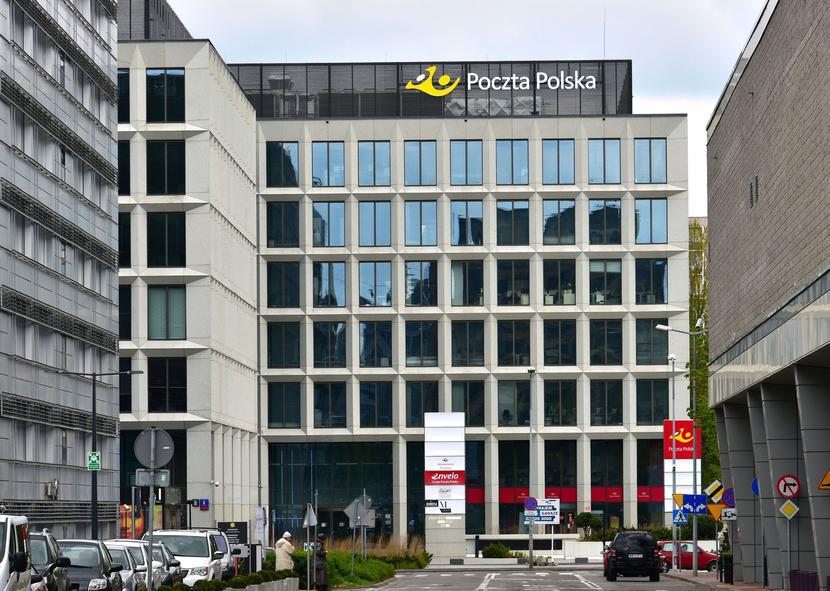 Główna siedziba Poczty Polskiej przy ul. Rodziny Hiszpańskich 8 w Warszawie