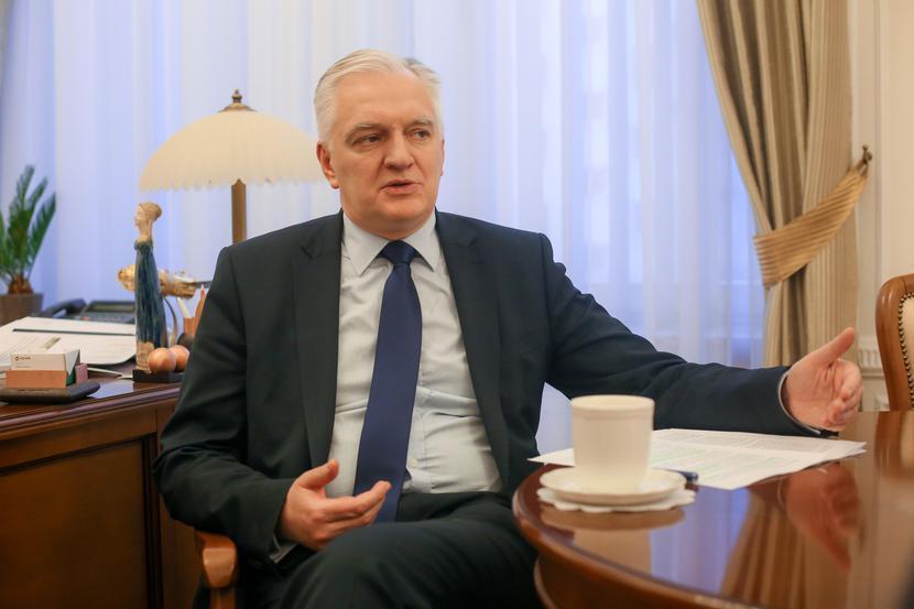 Jarosław Gowin, fot. Marek Wiśniewski