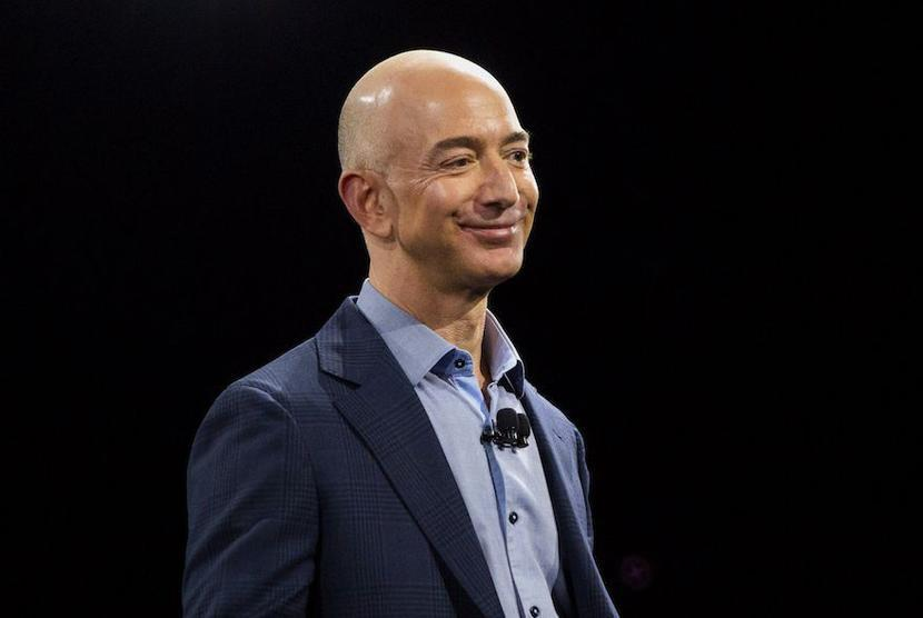 Jeff Bezos, fot. Bloomberg
