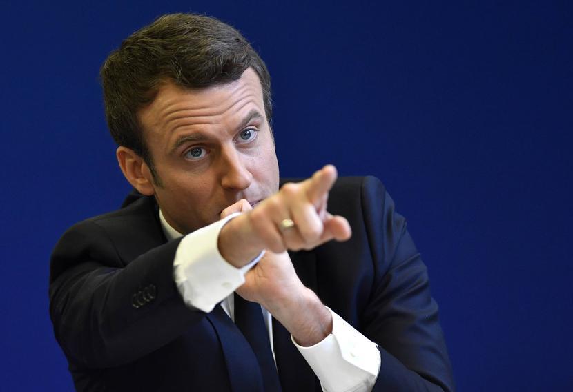 Emmanuel Macron, fot. PHOTOPQR/OUEST FRANCE/MAXPPP/FORUM