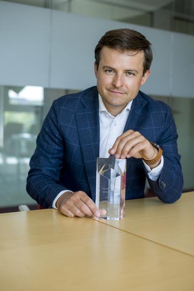 Dr hab. n. med. Łukasz Kołtowski, zwycięzca konkursu Supertalenty w Medycynie 2021