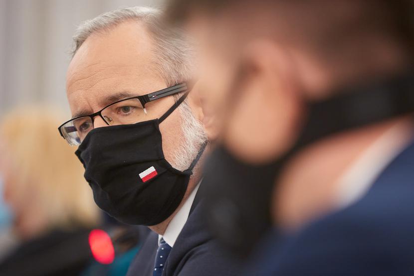 Adam Niedzielski, fot. Hubert Mathis / Zuma Press / Forum