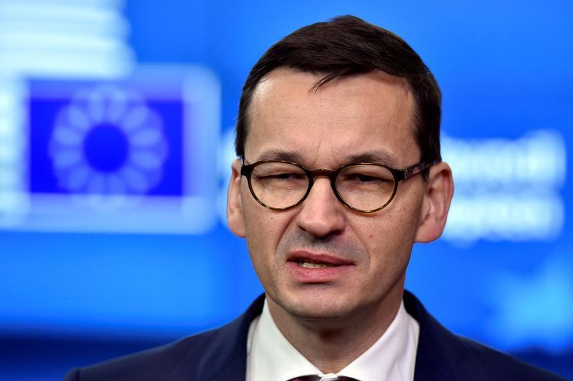 Mateusz Morawiecki, fot. REUTERS/Eric Vidal/Forum