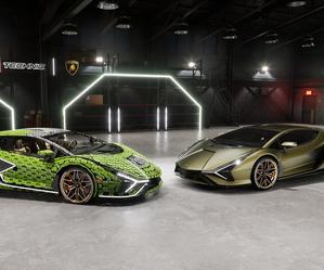 """Powstało """"prawdziwe"""" Lamborghini  zLego"""