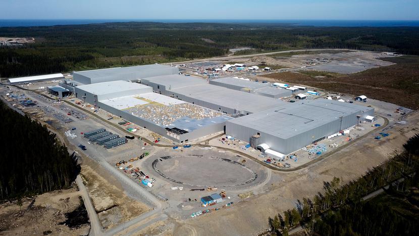 Gigafabryka Northvolt w Skelleftea w Szwecji