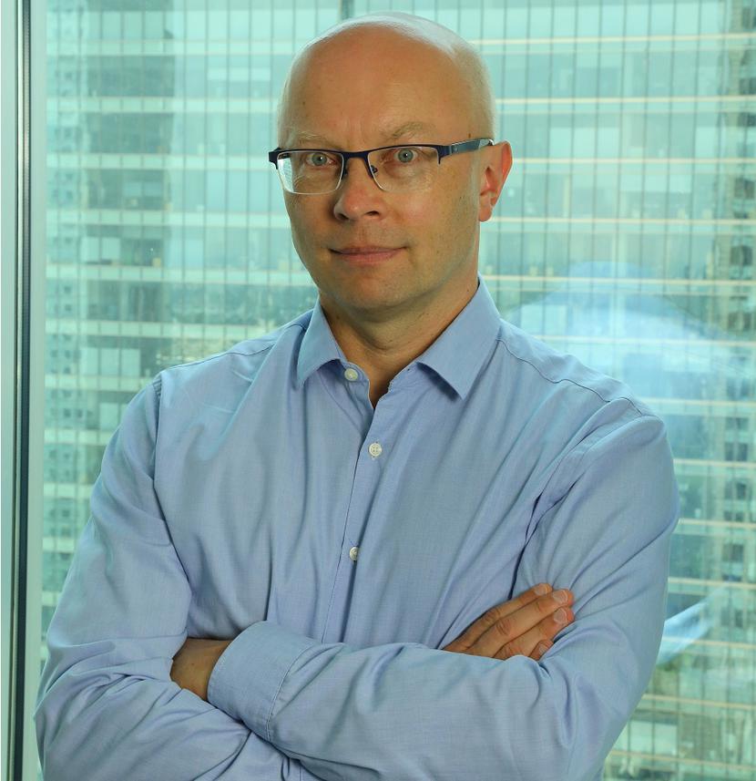 Jacek Ławrecki, dyrektor ds. komunikacji, Fortum; prywatnie pilot