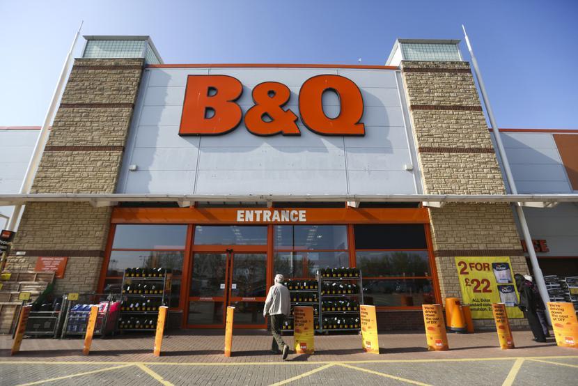 Sklep budowlany B&Q w Wielkiej Brytanii