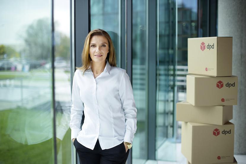 Monika Kowalska, członek zarządu DPD Polska, dyrektor ds. jakości, bezpieczeństwa i administracji.