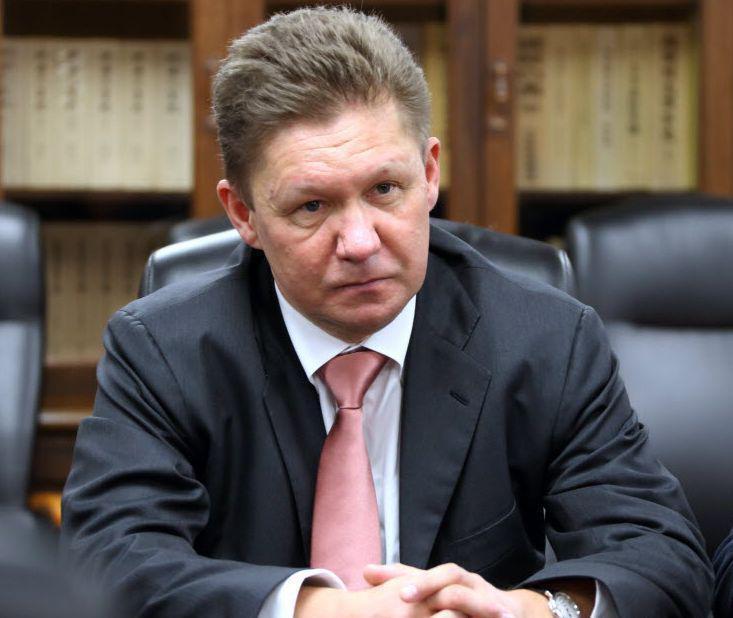 Aleksiej Miller, prezes Gazpromu, fot. Bloomberg