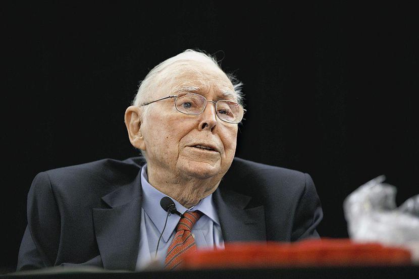 Charlie Munger, fot. Bloomberg