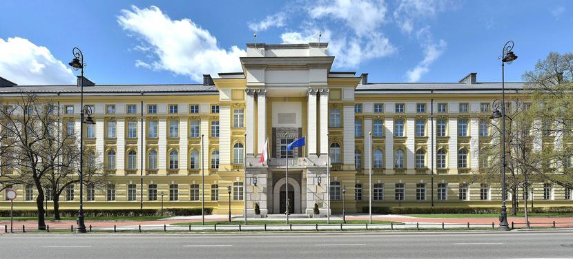 Siedziba Kancelarii Prezesa Rady Ministrów (KPRM) w Warszawie