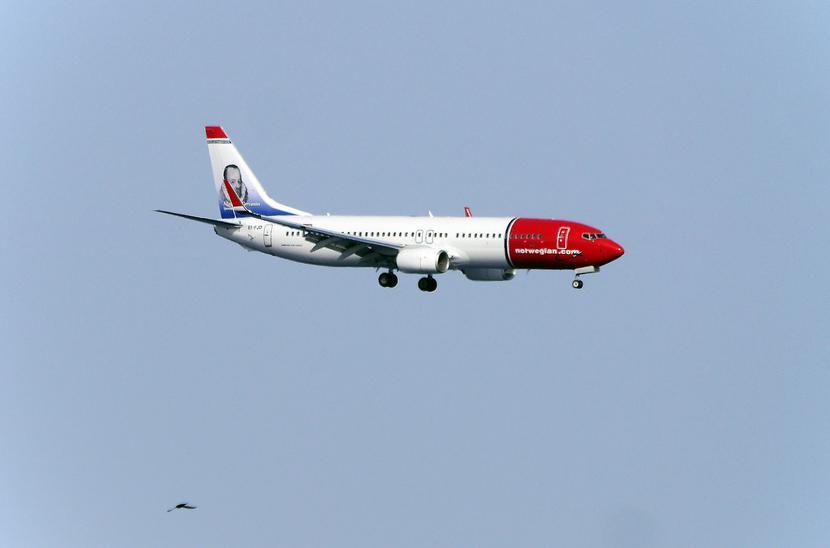 Samolot linii lotniczej Norwegian