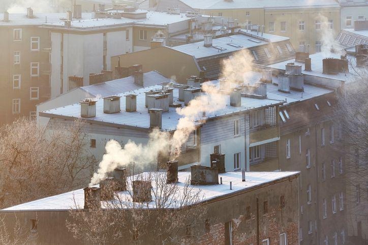 Smog nad Szczecinem