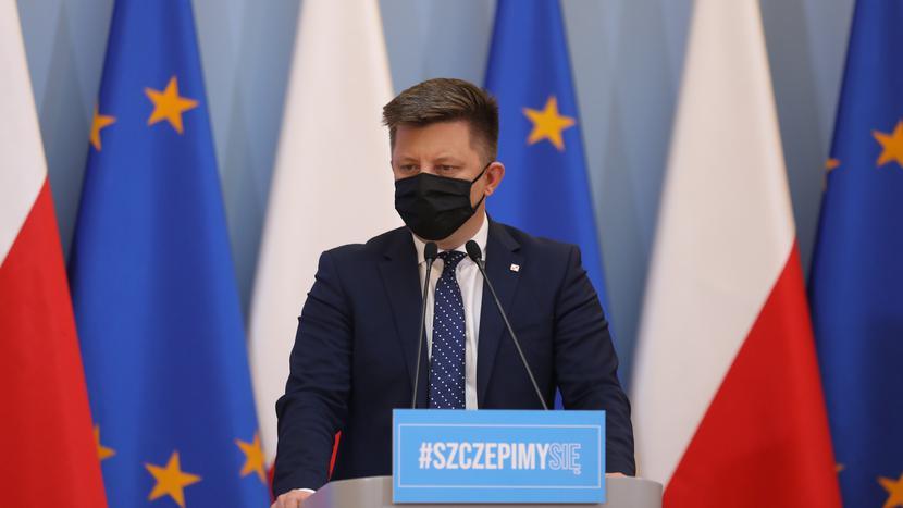 Minister Michał Dworczyk/KPRM