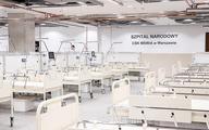 Szpital tymczasowy na Narodowym - zmieniono kryteria przyjmowania pacjentów