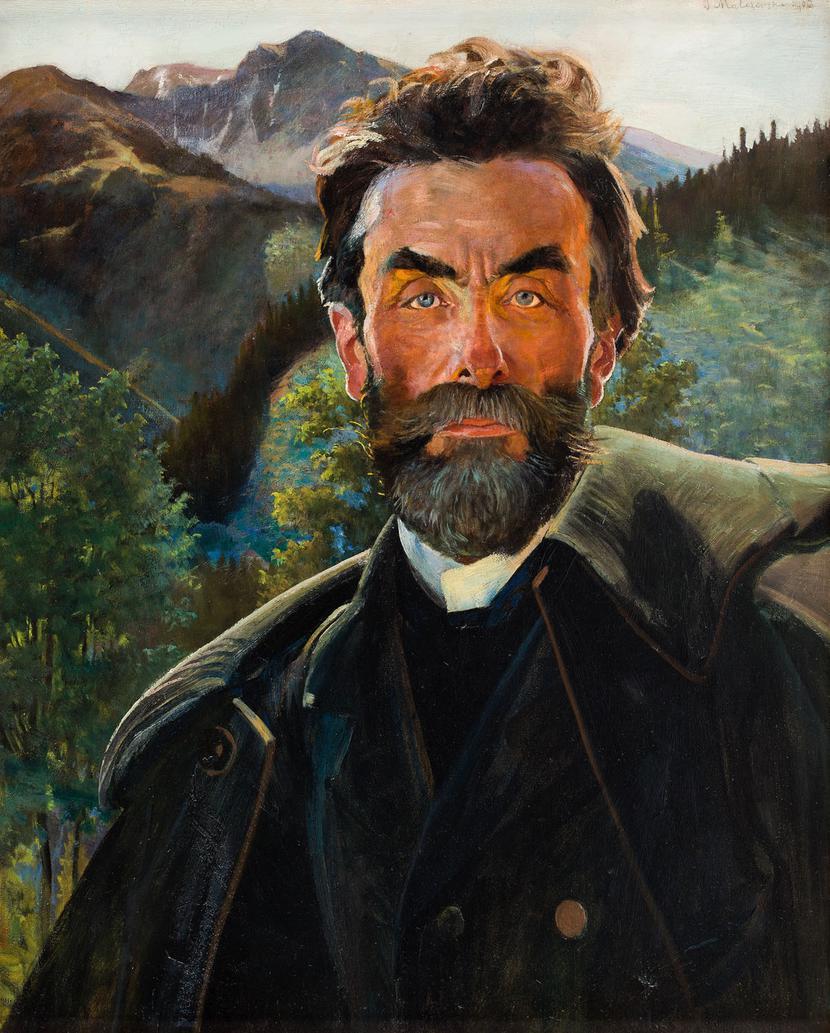 """Jacek Malczewski, """"Portret Stanisława Witkiewicza"""""""