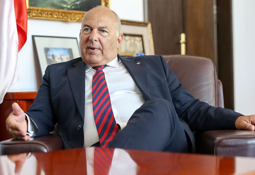 Tadeusz Kościński, fot. Marek Wiśniewski